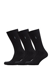 SOCK 3-PACK DRESS SLACK LENGTH W/PP - NAVY