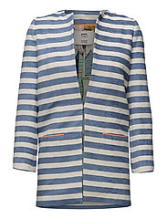 Jacket Stripes Blue - BLUE
