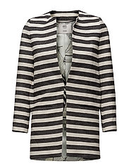 Jacket Stripes Black - BLACK