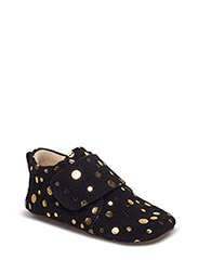 Indoor shoe - BLACK GOLD DOT