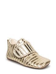 Indoor shoe - GOLD STRIPE