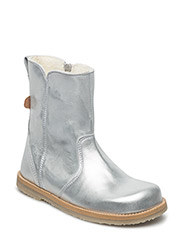 Winterboot with zipper - SILVER