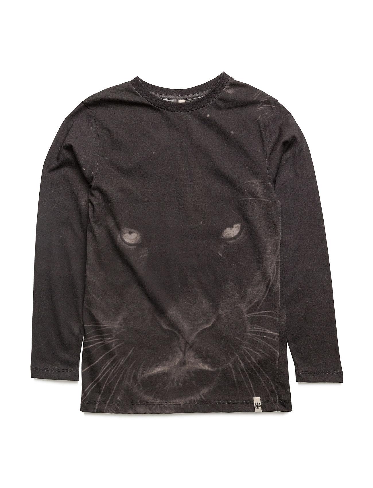 Basic Ls Tee Panther Aop Popupshop Langærmede t-shirts til Børn i
