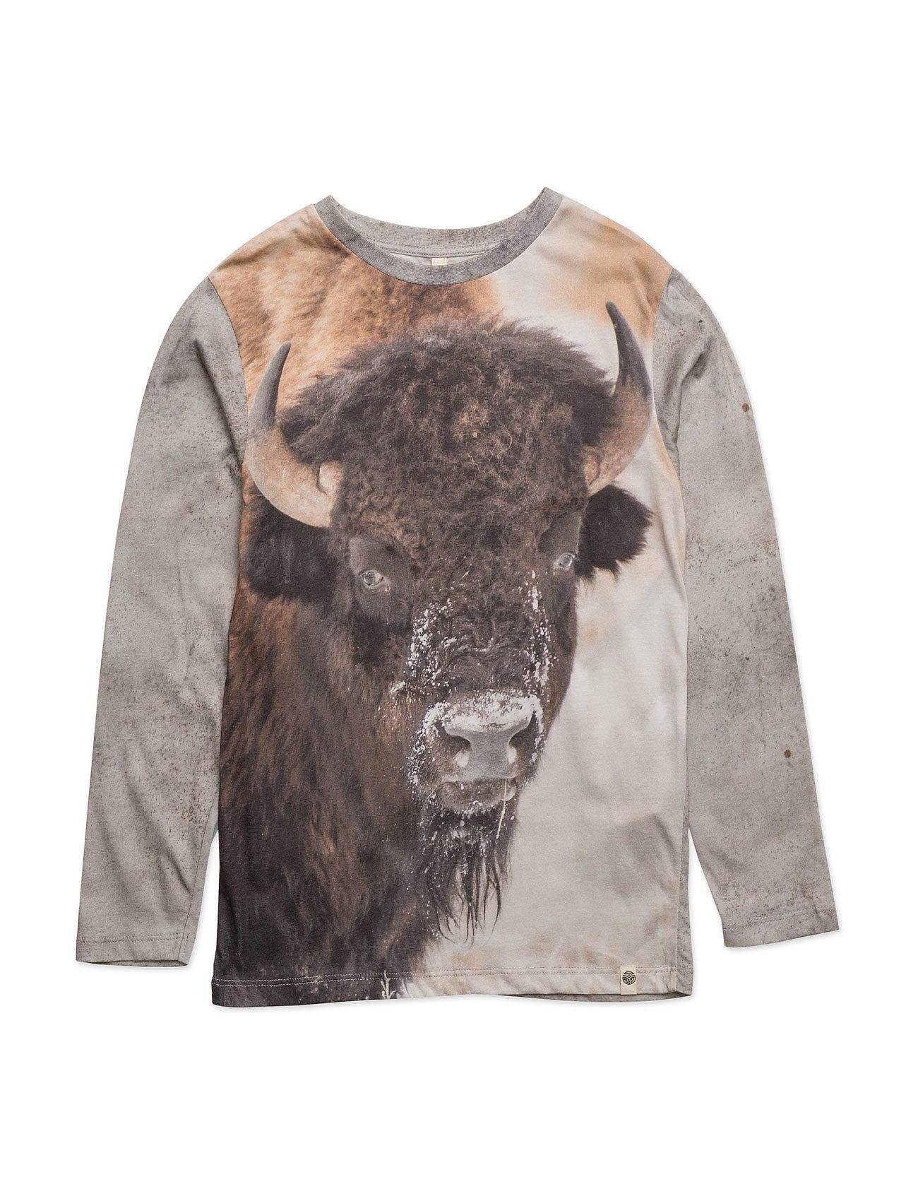 Basic Ls Tee Bison Popupshop Langærmede t-shirts til Børn i