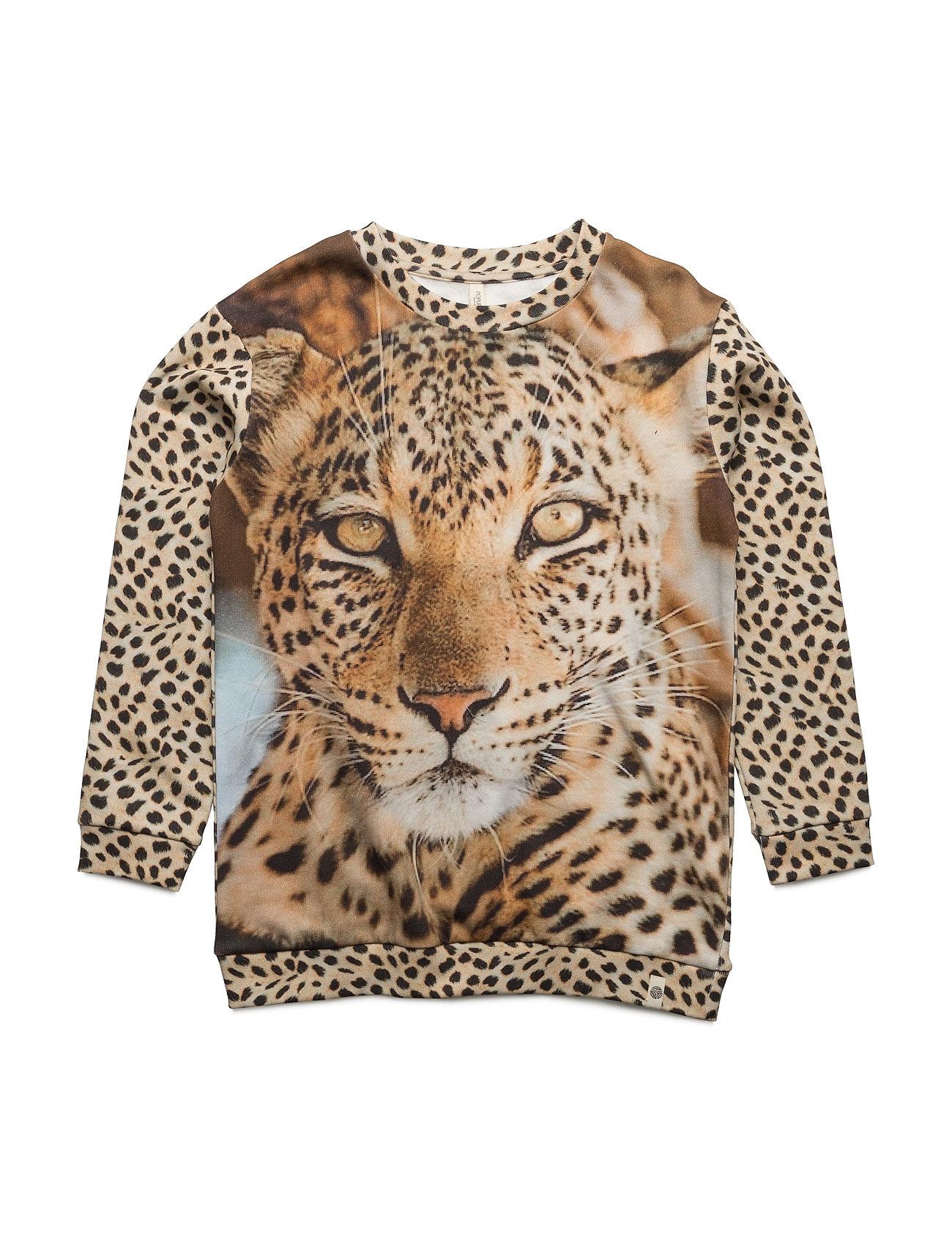 Loose Sweat Leopard Popupshop  til Børn i Leopard