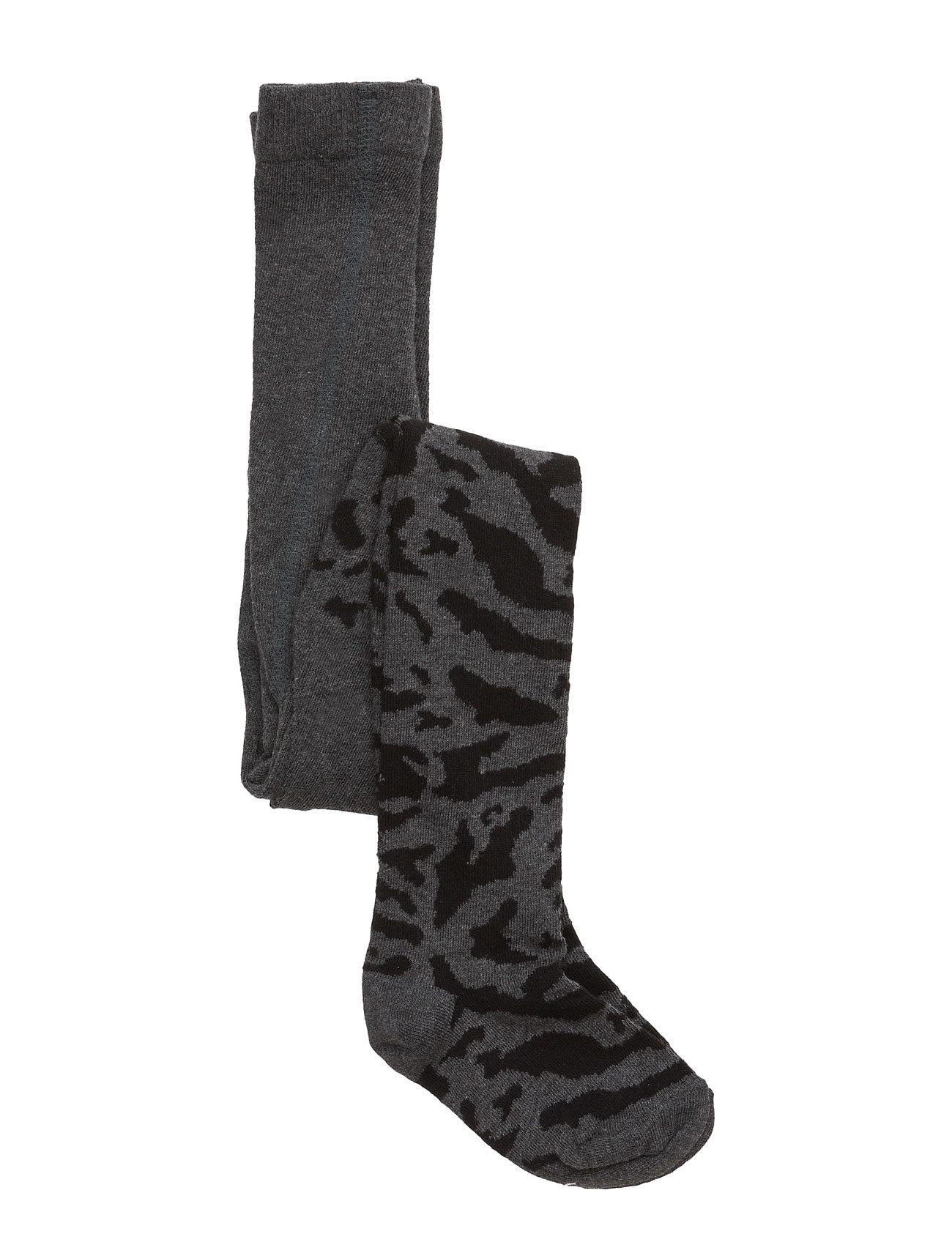 Stockings Zebra Black / Grey Popupshop Strømper & Strømpebukser til Børn i