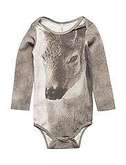 Baby Body Fawn AOP - FAWN
