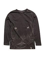 Basic LS Tee Panther AOP - PANTHER