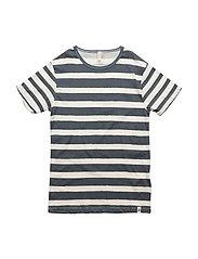 Basic SS Tee Printed Stripes - PRINTED STRIPES