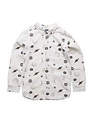 Button-Down Shirt Moon AOP - MOON