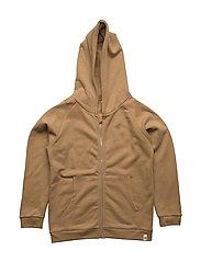 Hoodie w. Zipper Cardboard - CARDBOARD