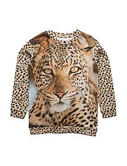 Loose Sweat Leopard - LEOPARD