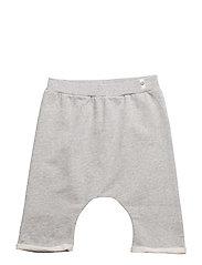 Baggy Shorts Grey Melange - GREY MELANGE