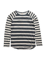 Robs LS Tee Printed Stripes - PRINTED STRIPES