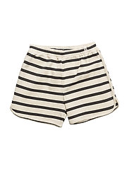 Runner Shorts Maritime Off White With Navy - OFF WHITE WITH NAVY