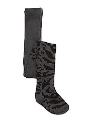 Stockings Zebra Black / Grey