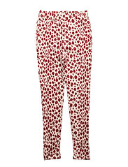 Sunday Pants Red Leo AOP - RED LEO