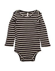 Supreme Rib Baby Body Navy/Off White Stripes - NAVY/OFF WHITE STRIPES