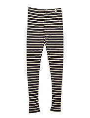 Supreme Rib Leggings Navy/Off White Stripes - NAVY/OFF WHITE STRIPES