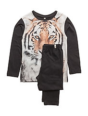 Night Set Tiger On Black - TIGER ON BLACK