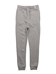 Sweat Pants Grey Melange - GREY MELANGE
