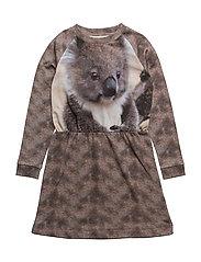 Robbie LS Dress Koala AOP - KOALA