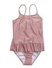 Ruffles Swimsuit Rosa Mermaid - ROSA MERMAID