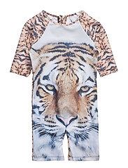 Swim Onepiece Jumpsuit Tiger - TIGER
