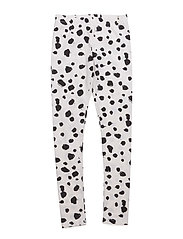 Leggings - WHITE LEO