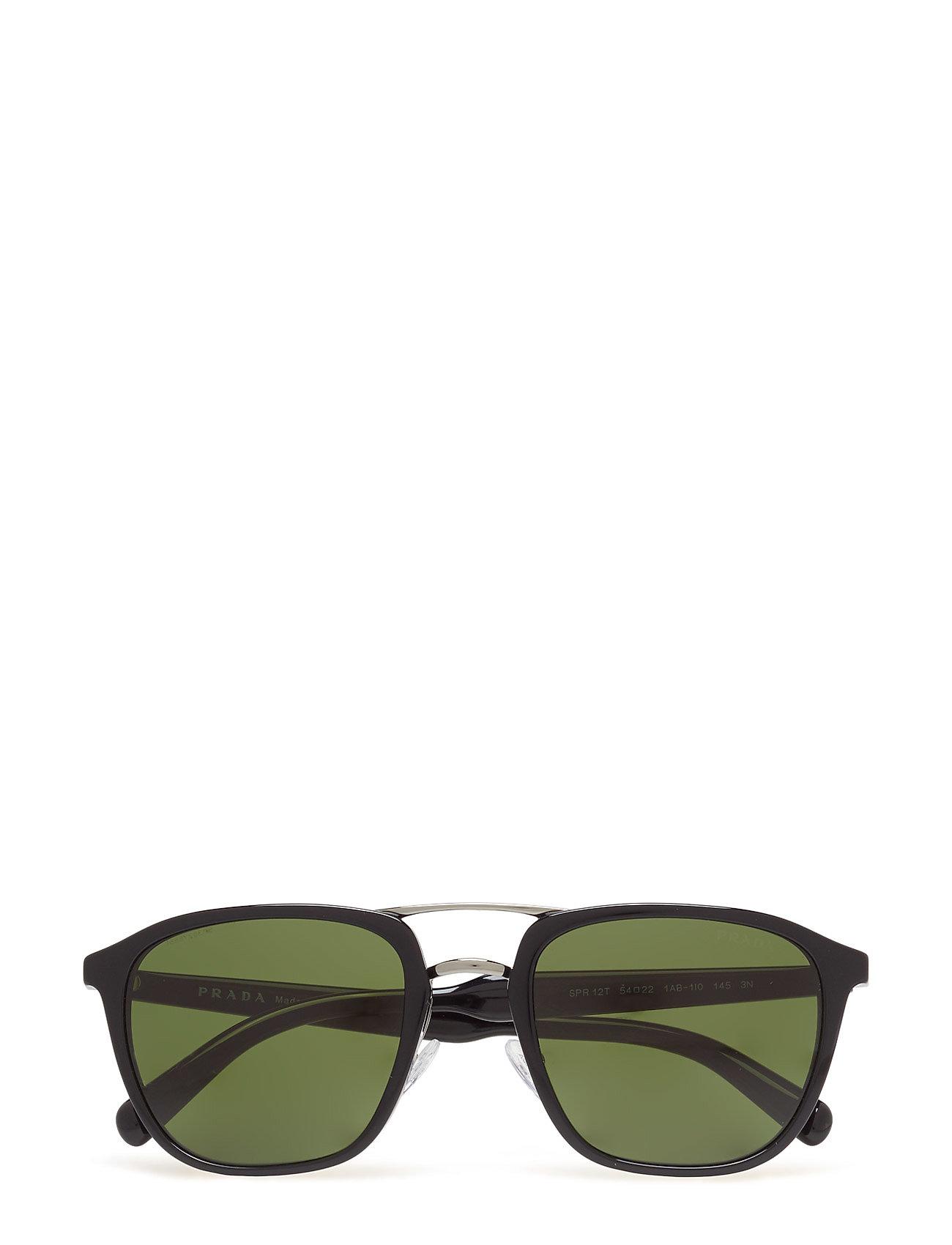 D-Frame Prada Sunglasses Accessories til Mænd i Sort