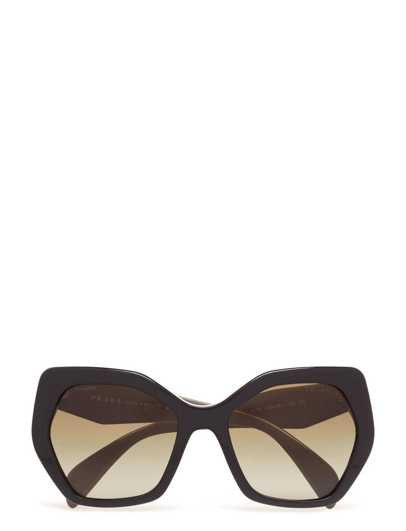 Square Prada Sunglasses Solbriller til Kvinder i Sort
