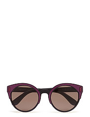 WOMEN'S SUNGLASSES - BLACK/BORDEAUX/FUXIA