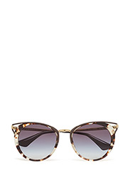 Cat-Eye Sunglasses - SPOTTED OPAL BROWN