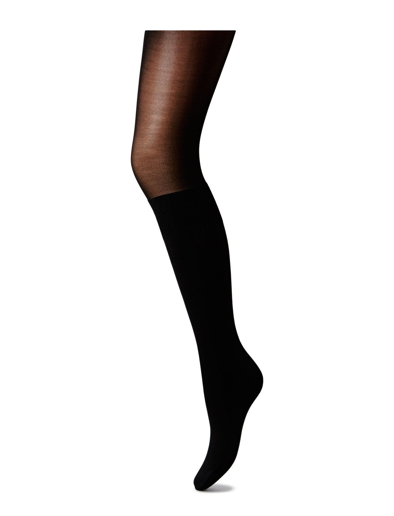 Pp Otk Modal Sock Tights Pretty Polly Strømpebukser til Damer i Sort