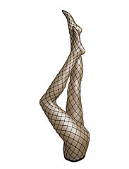 PP JUMBO BIG FISHNET TIGHTS - BLACK