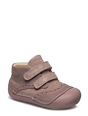 LULLABY SHOE 8002077 - TAUPE, OLD ROSE