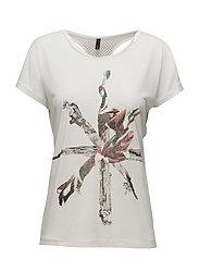 Anita Bat Sl. T-shirt - SOFT CREAM
