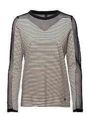 Hella L/S T-shirt - SOFT CREAM