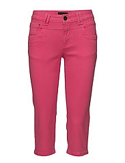 Tenna Highwaist Capri - MAGENTA