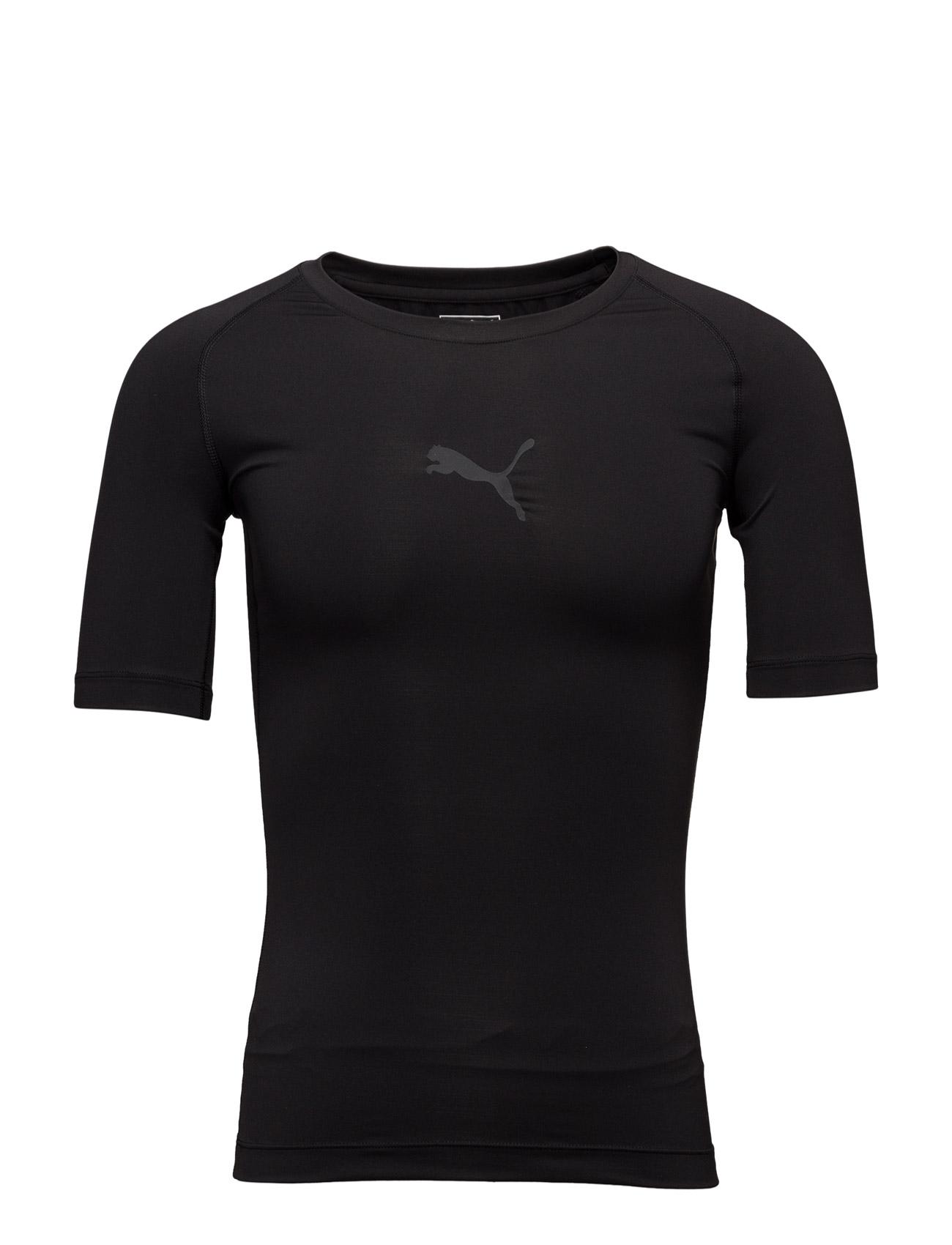 Lite_ Short Sleeve Tee PUMA SPORT Sports toppe til Mænd i Sort