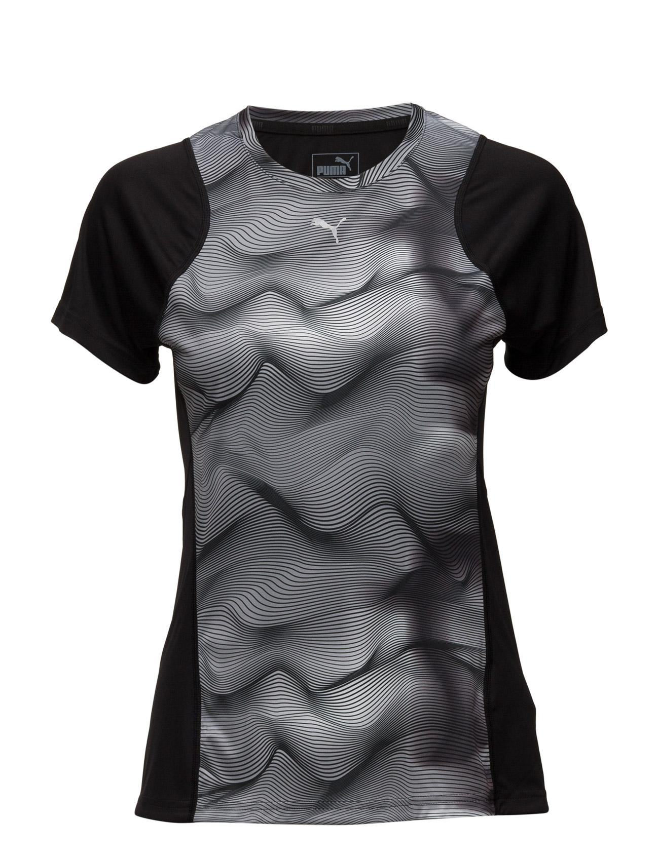 Graphic S/S Tee W PUMA SPORT Løbe t-shirts til Damer i