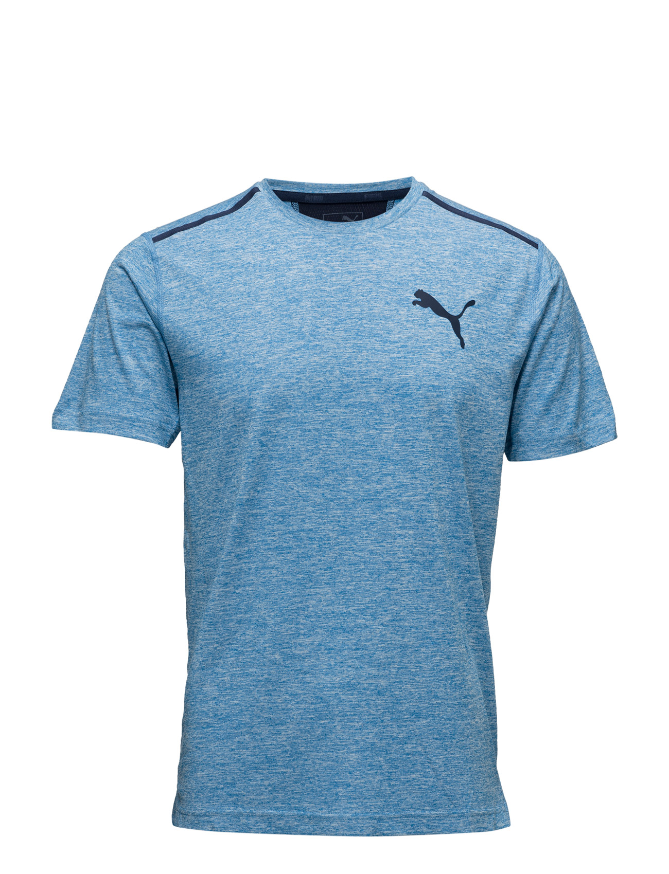 Bonded Tech Ss Tee PUMA SPORT Løbe t-shirts til Mænd i