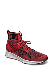 IGNITE evoKNIT - HIGH RISK RED-QUIET SHADE-PUMA