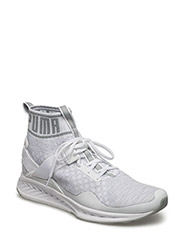 IGNITE evoKNIT - PUMA WHITE-QUARRY-VAPOROUS GRA