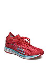 Speed IGNITE NETFIT Wn - POPPY RED-NRGY TURQUOISE-PUMA WHITE