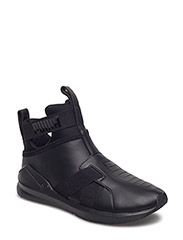 Fierce Strap Leather Wn's - PUMA BLACK