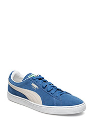 Suede Classic+ - OLYMPIAN BLUE-WHITE