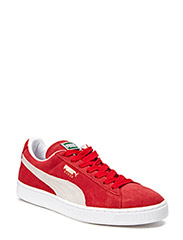 Suede Classic+ - TEAM REGAL RED-WHITE