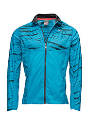 GRAPHIC WOVEN JACKET - BLUE