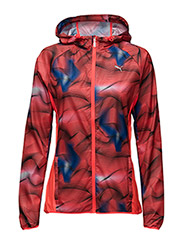 Packable Woven Jacket W - RED BLAST-PUMA BLACK-ROYAL BLUE